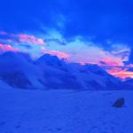 ледник Эныльчек с севера