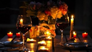 Вино и свечи