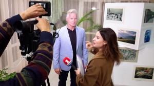 Сёлви дает интервью