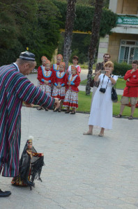 Мансур Курязов и его куклы