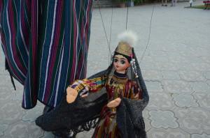 Вот такие куклы на фестивале